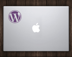 WordPress-laptop-decal