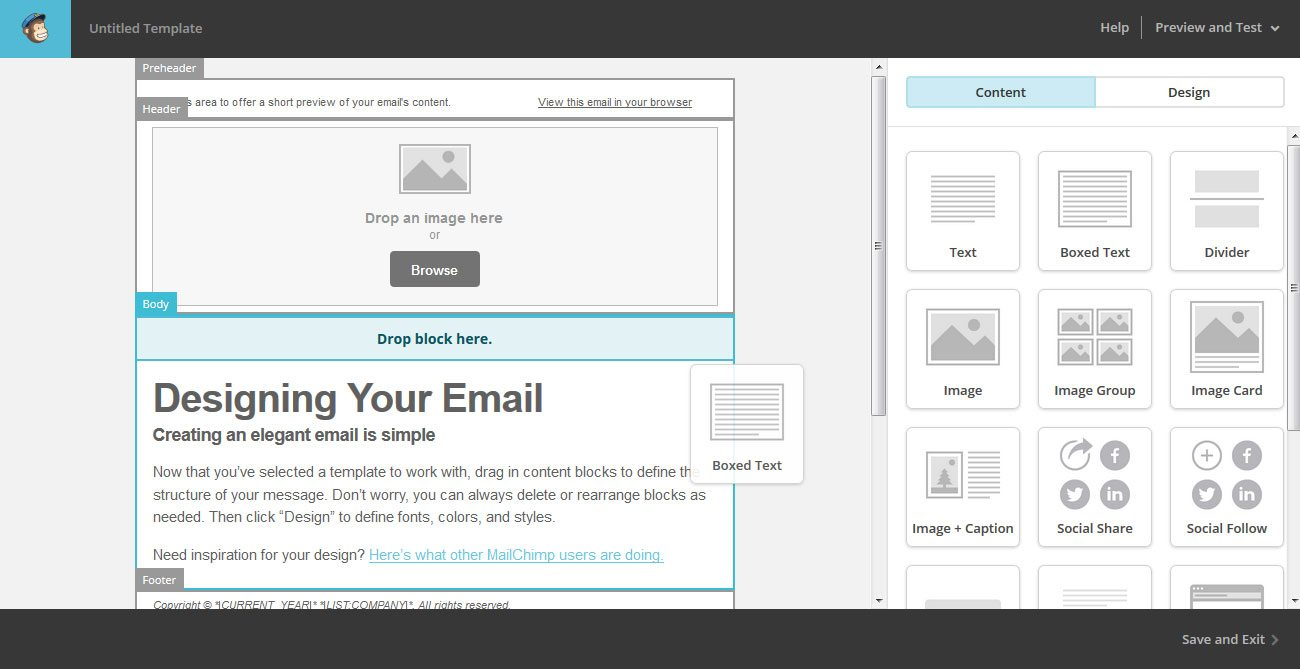the beginner 39 s guide to using mailchimp for email marketing. Black Bedroom Furniture Sets. Home Design Ideas