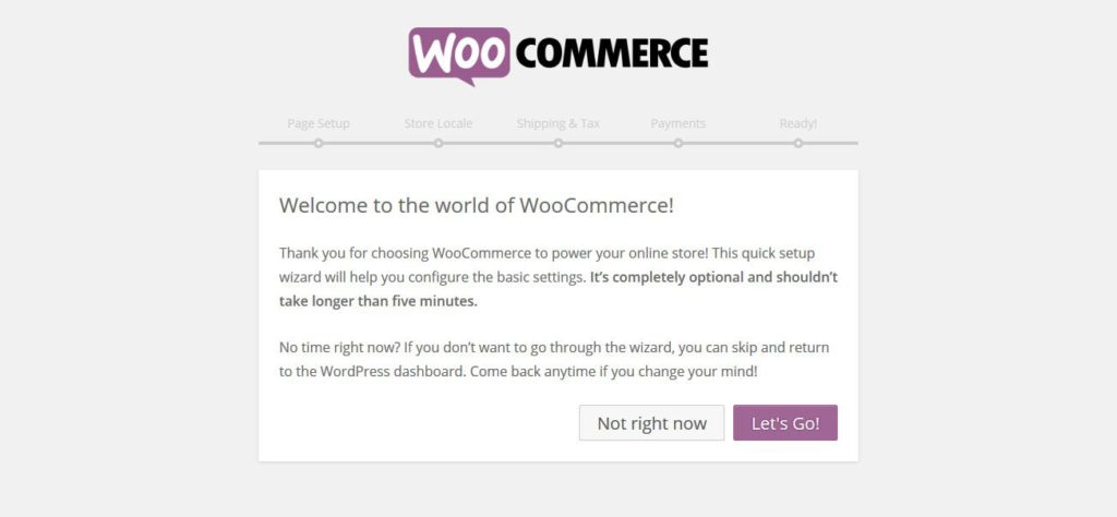 woocommerce-installation-wizard