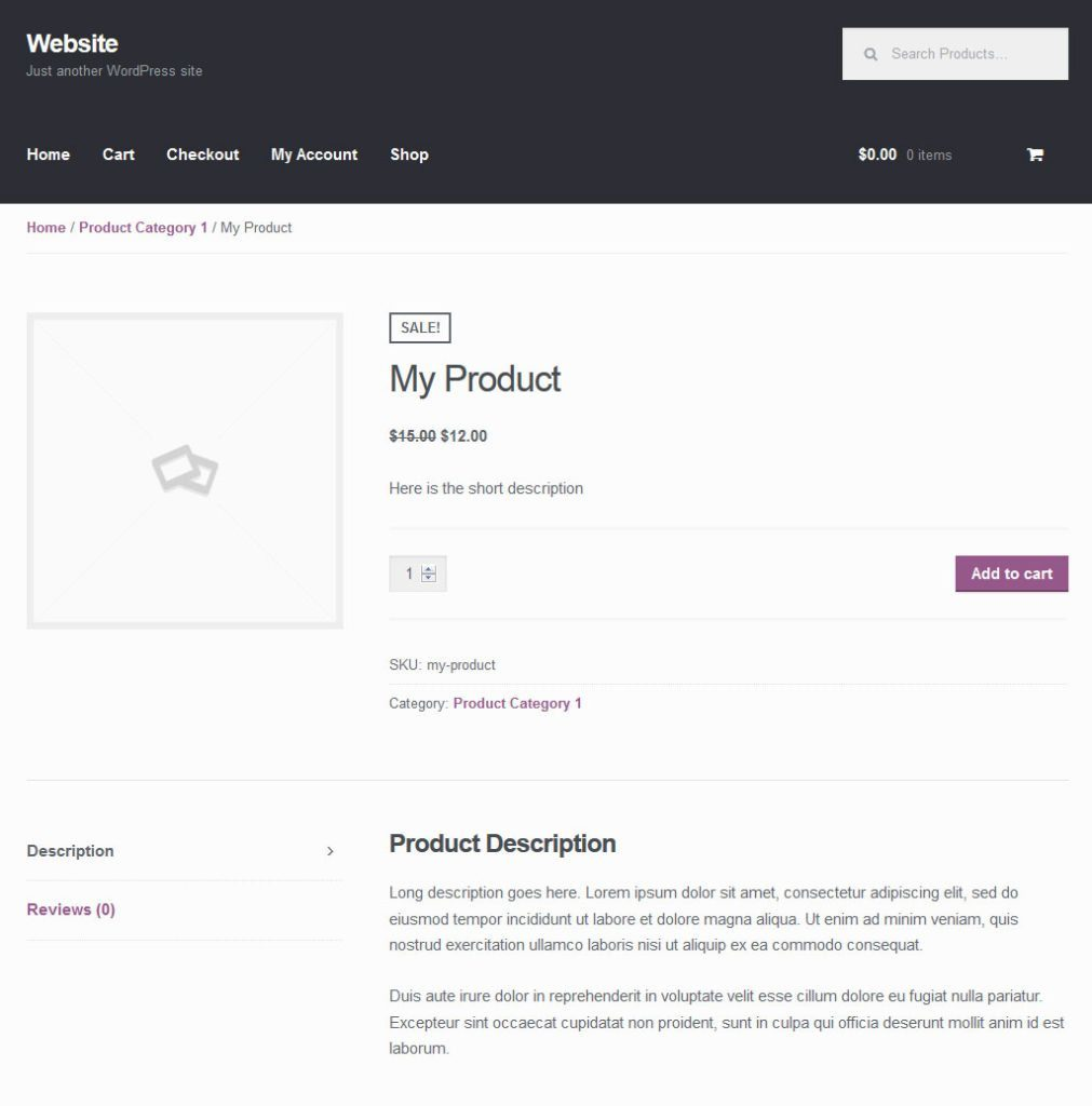 woocommerce-sample-product