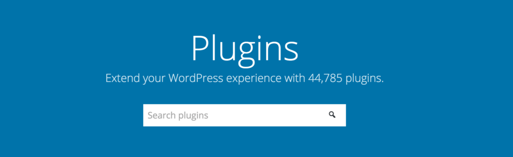 plugin repository redesign