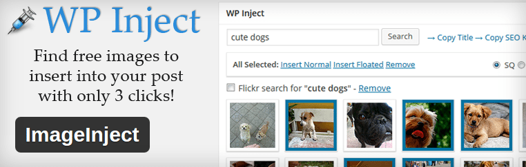 image inject wordpress plugins