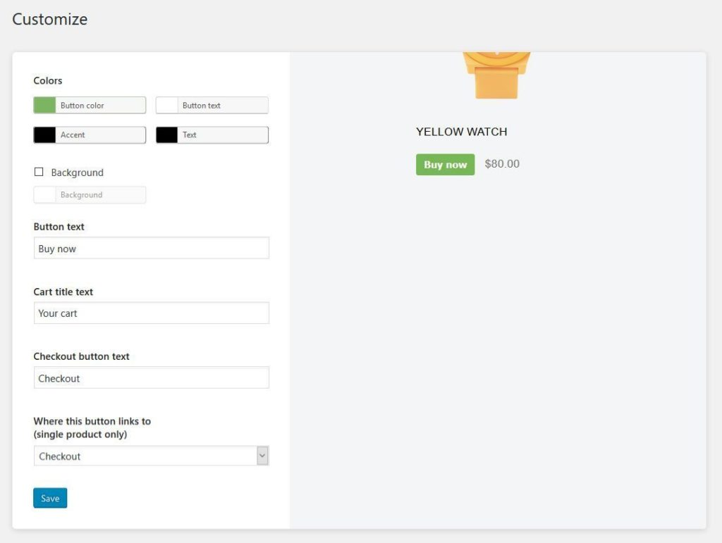 shopify wordpress customization options
