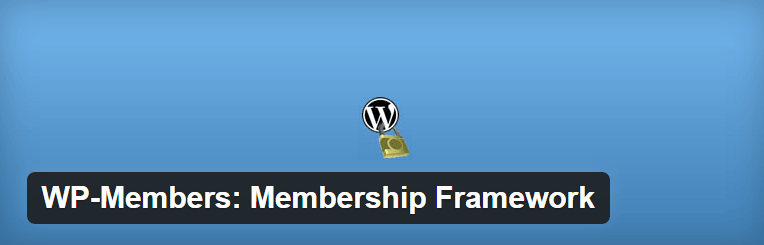 The WP-Members plugin.