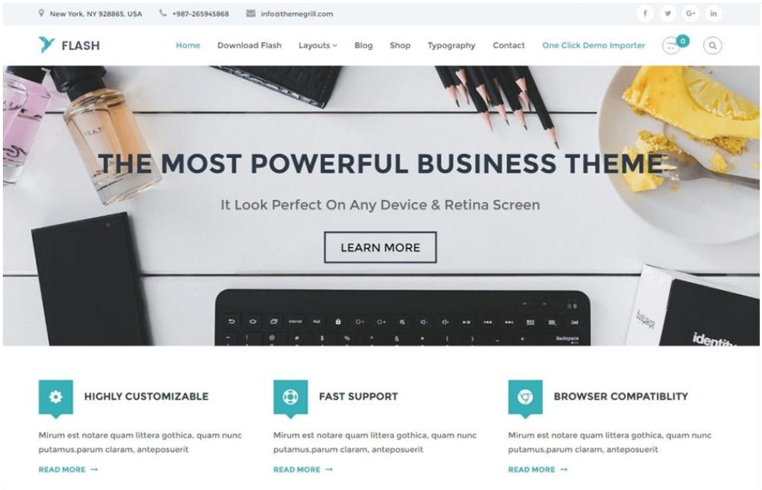 4 Ultimate Wordpress Free Themes
