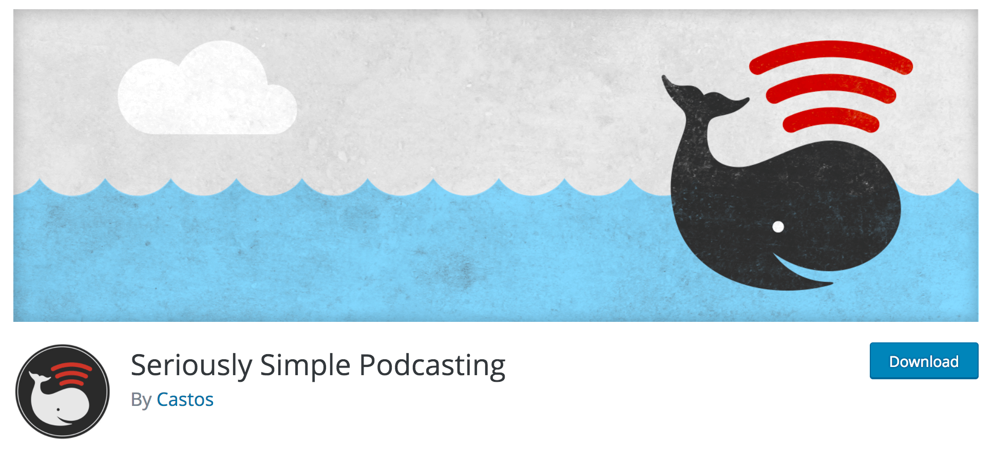 The Seriously Simple Podcasting plugin.