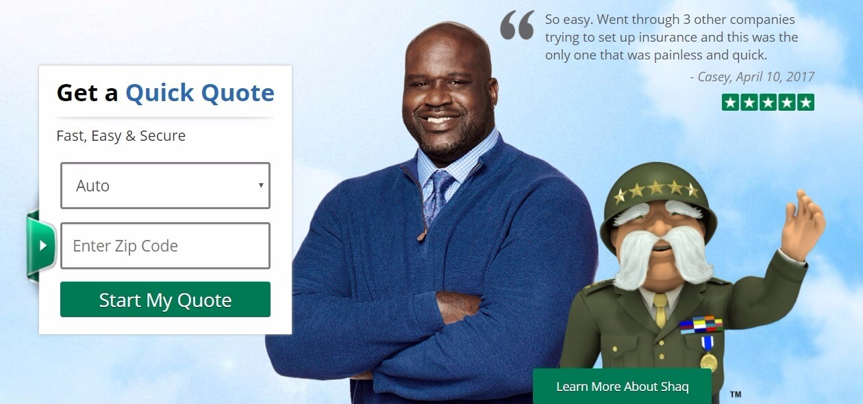 The General Insurance homepage