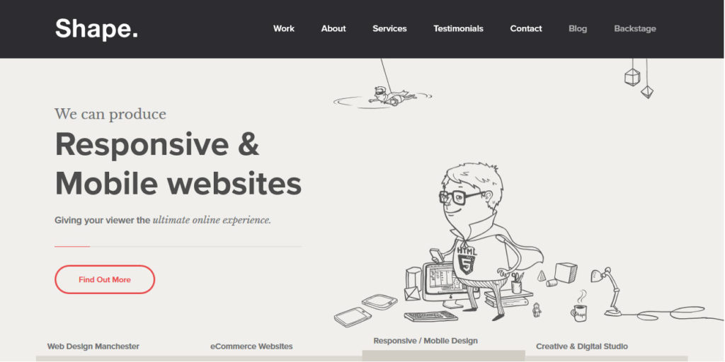 web design trends 2018 custom illustrations