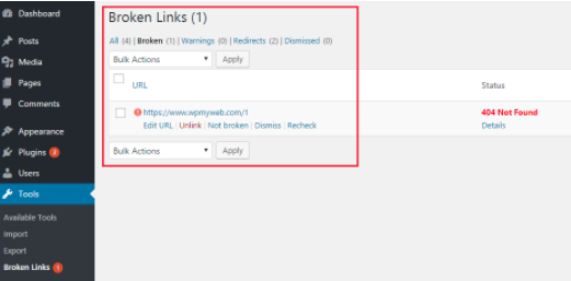 How to Check and Fix Broken Links in WordPress