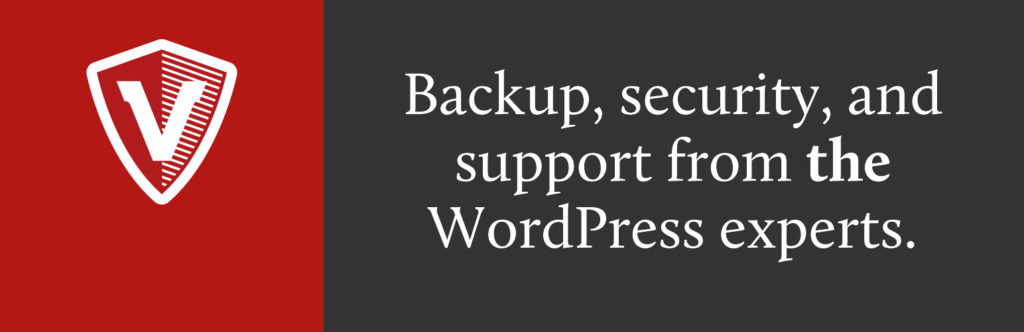 back up wordpress remotely with Vaultpress