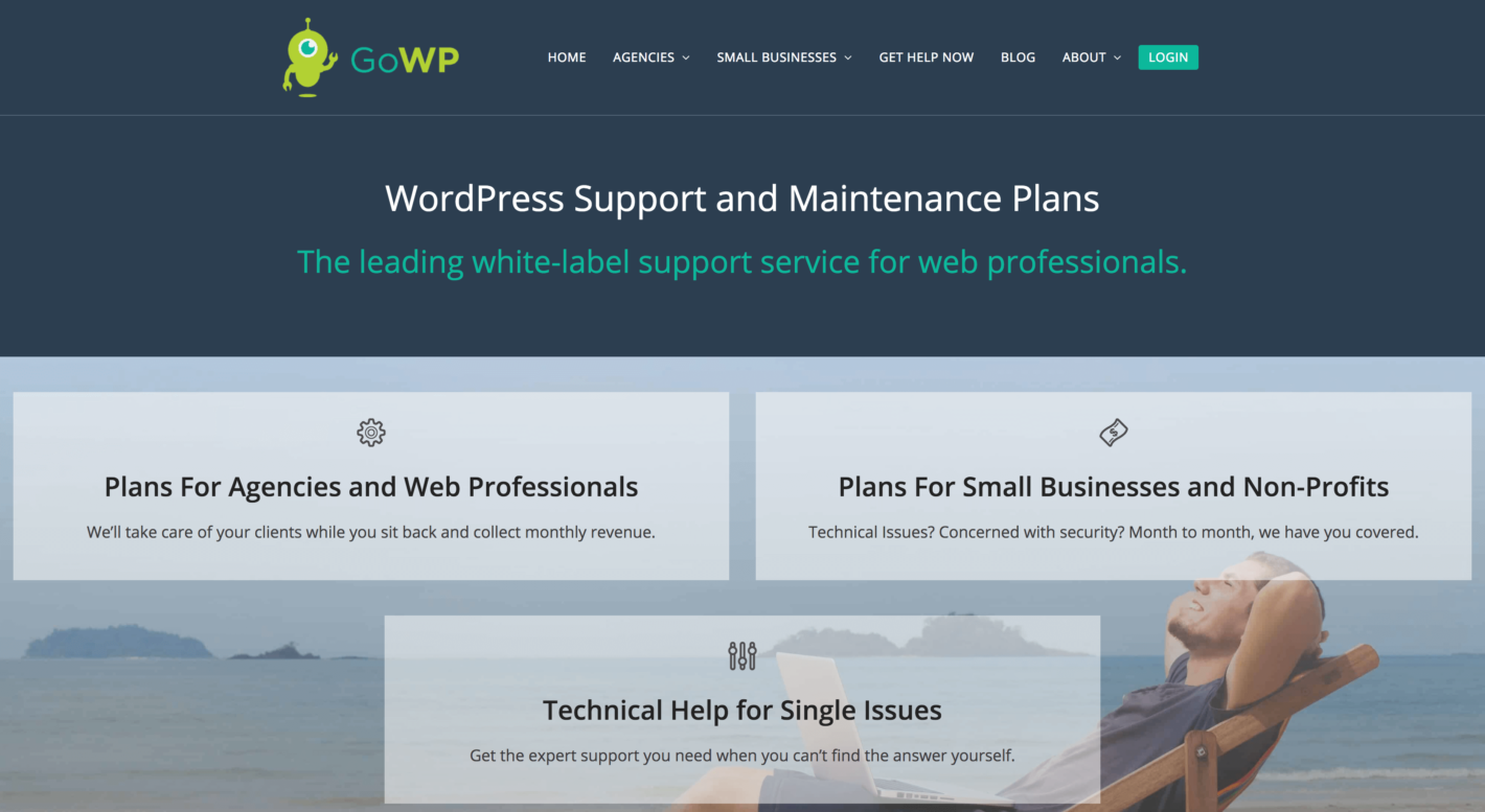 The GoWP website.
