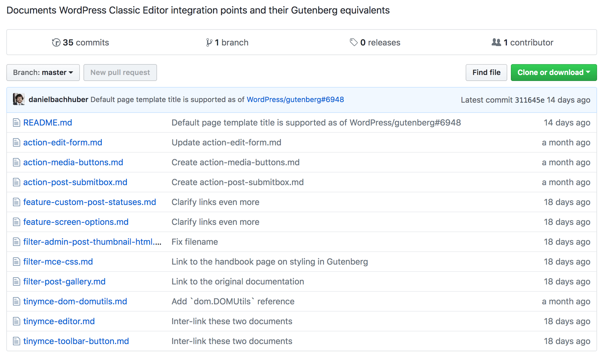 The entire Gutenberg Migration Guide.