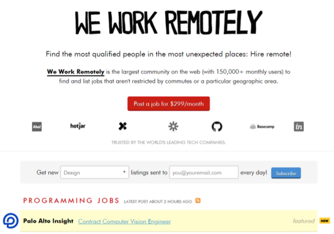 Reliable Places to Find Full-Time and Remote Web Design Jobs