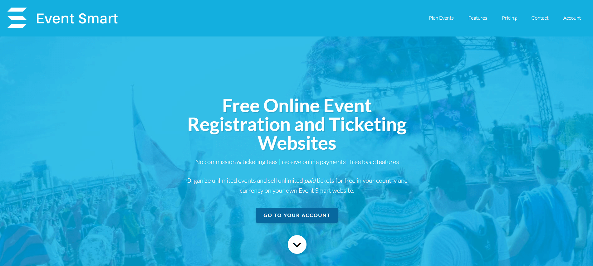 The Event Smart website.