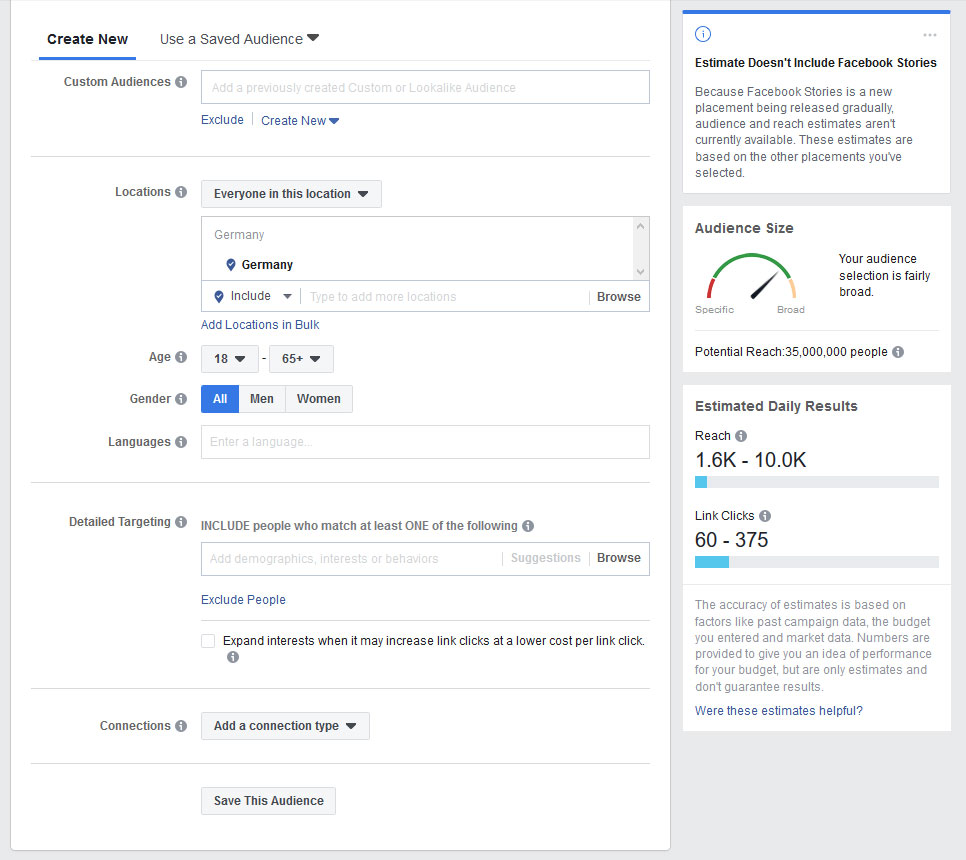 facebook ad creation tools