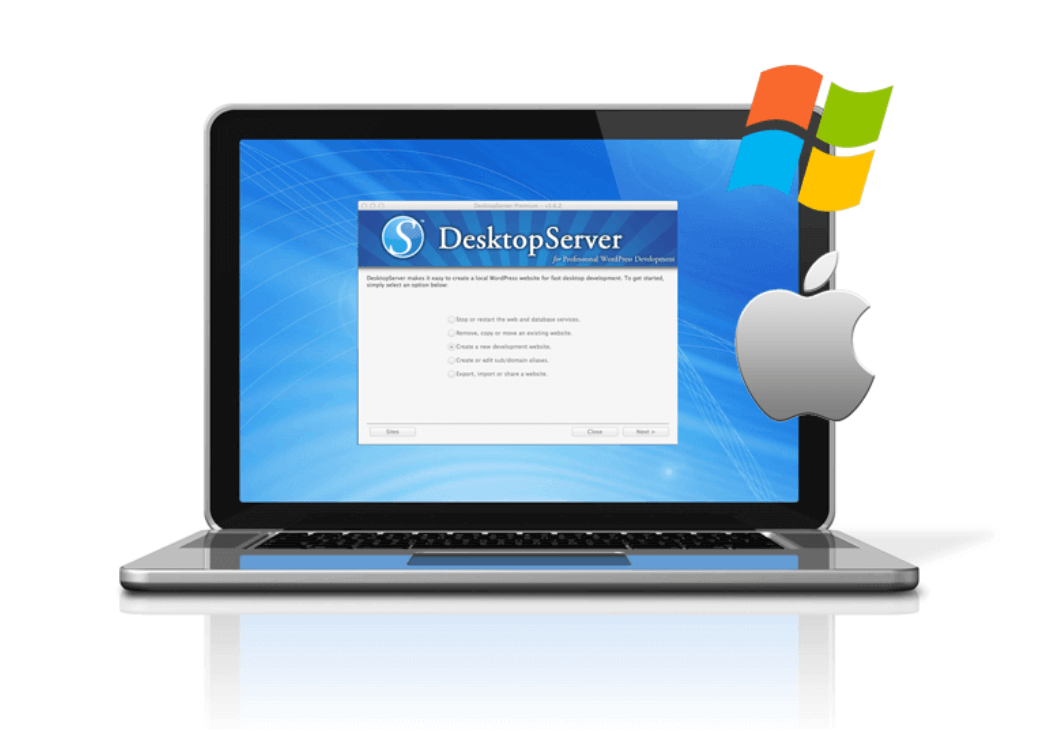 The DesktopServer logo.