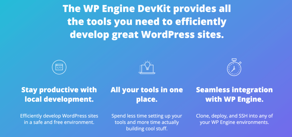 WP Engine's DevKit.