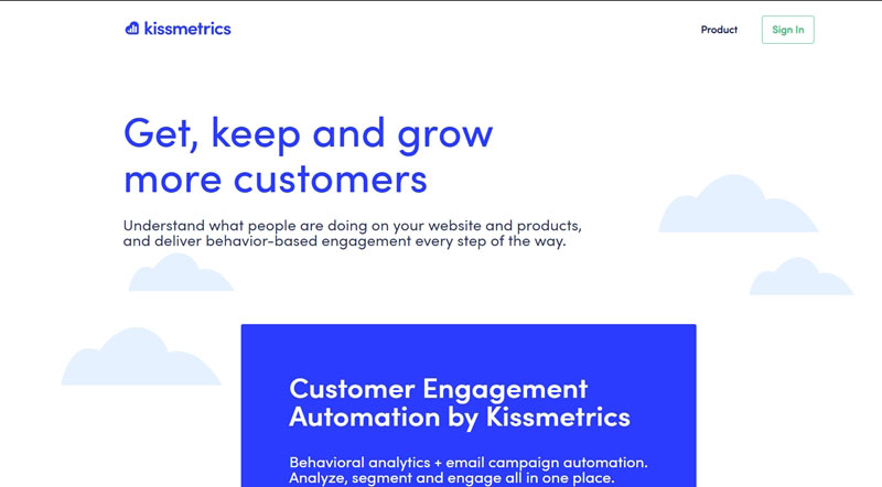 kissmetrics is a google analytics alternative