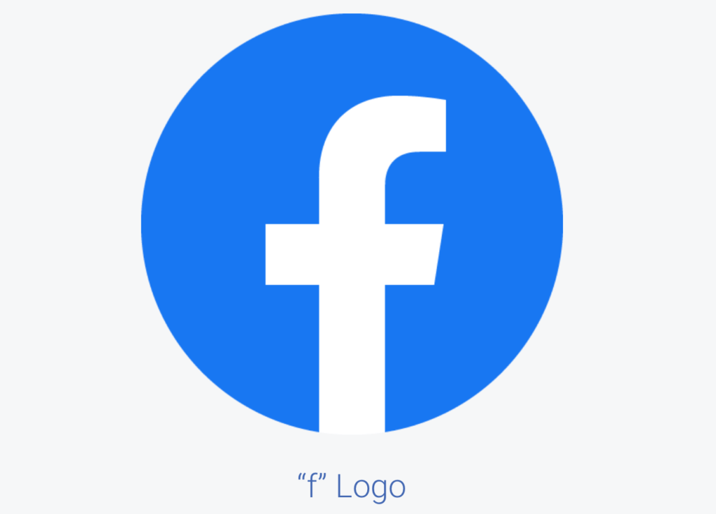 The Facebook logo.