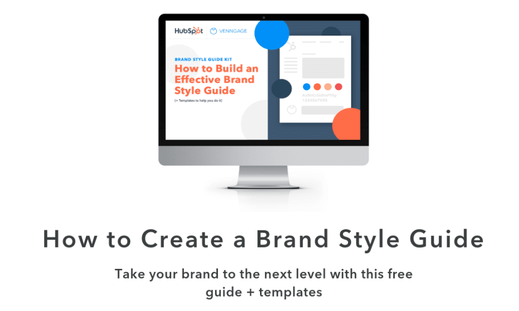 Style guide templates on HubSpot.