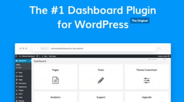 The Ultimate Dashboard plugin for WordPress.