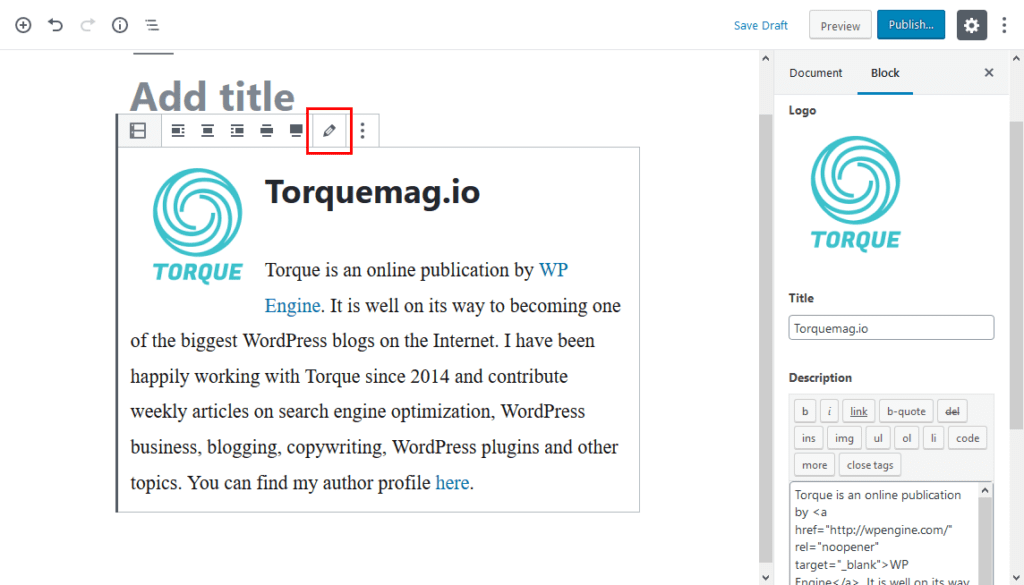 acf block preview in gutenberg