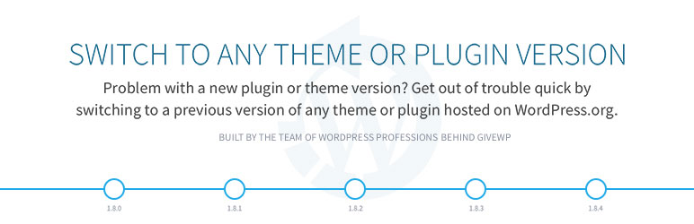wp rollback wordpress plugin for version control