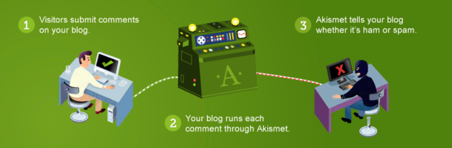 The Akismet WordPress plugin.
