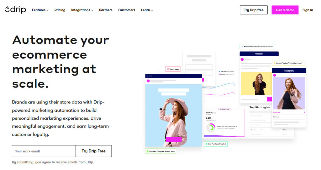 drip email marketing suite