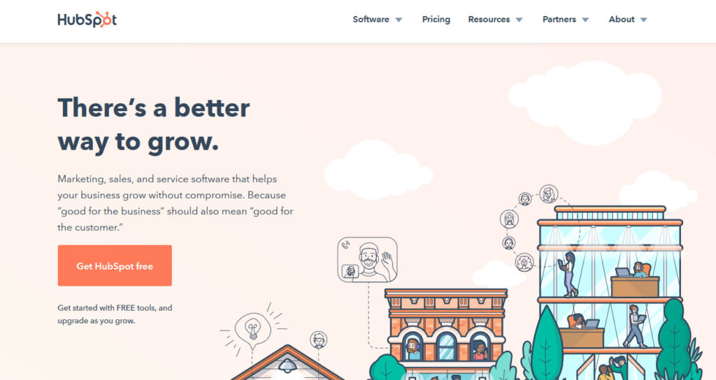 hubspot allows you to automate online marketing