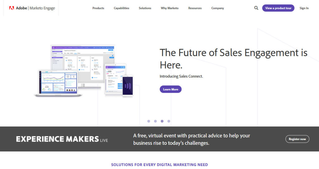 marketo online marketing automation tool
