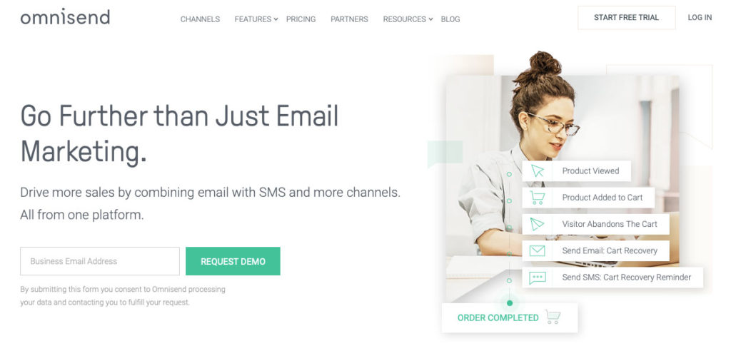 omnisend helps automate online marketing