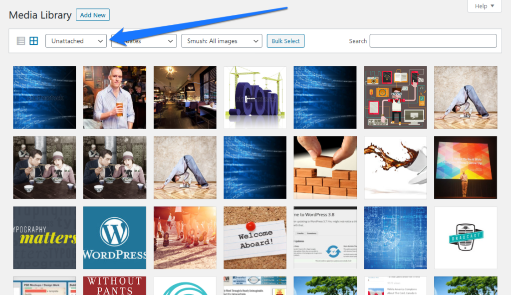find and remove unattached media files in wordpress to improve your site