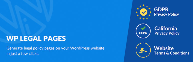 wp legal pages wordpress plugin