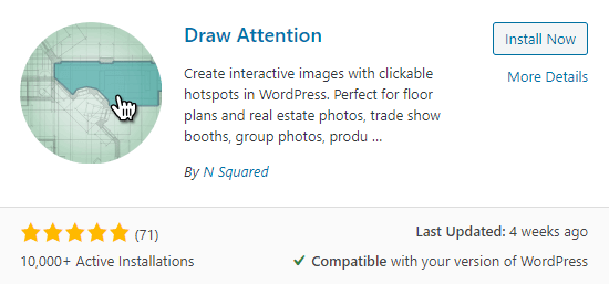 The Draw Attention plugin.