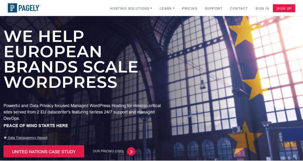 pagely for headless wordpress hosting