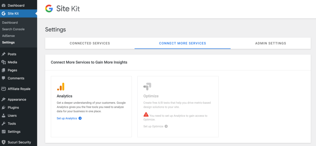 Measuring your Google AdSense web page visitors with the Role Package plugin.